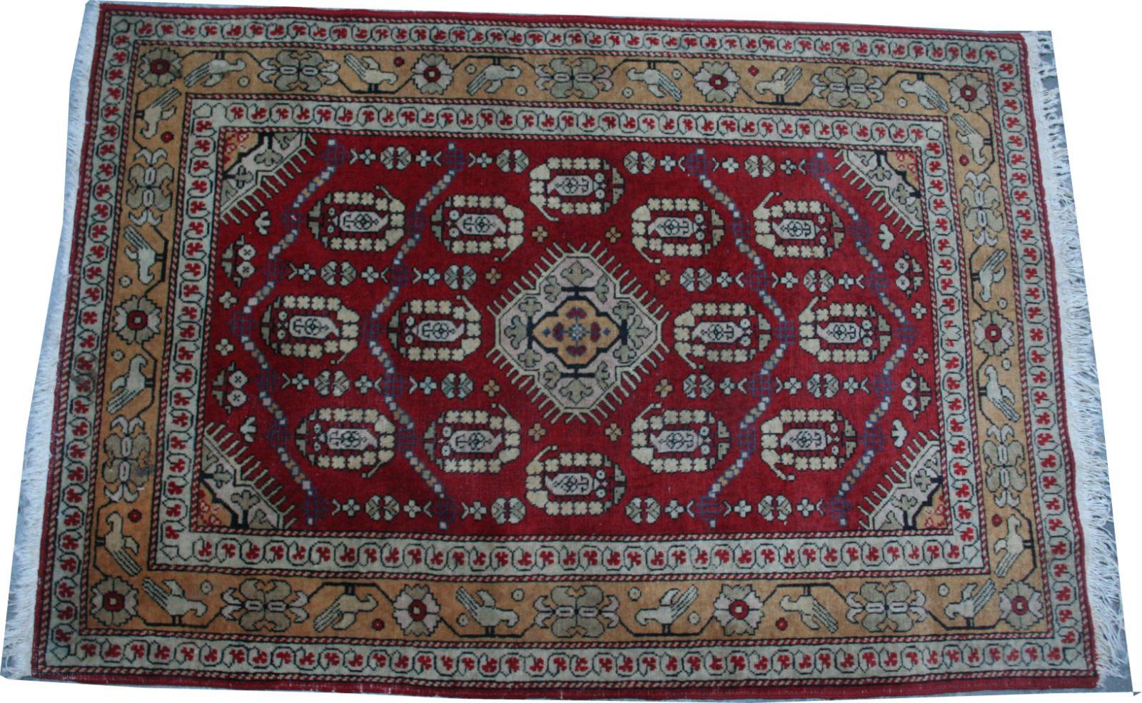 Antique caucasus rug